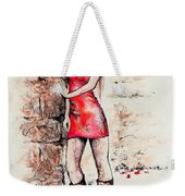 In A Moment Weekender Tote Bag