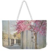 In A Small Town Weekender Tote Bag