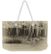 In A Yellow Wood Antique Weekender Tote Bag