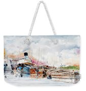 In Attesa Oltre Il Canale Weekender Tote Bag