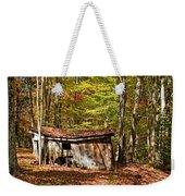 In Autumn Woods Weekender Tote Bag by Steve Harrington