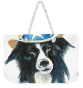 In Dog We Trust Greeting Card Weekender Tote Bag