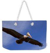 In Flight Pelican Weekender Tote Bag