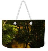 In Golden Moments Of Reflection Weekender Tote Bag