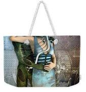 In Love With An Alien Weekender Tote Bag