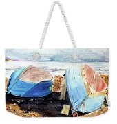 In Secca Sulla Spiaggia Weekender Tote Bag