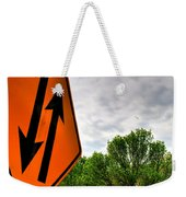 In Sync With Nature  Weekender Tote Bag