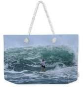In The Center Of The Swell Weekender Tote Bag