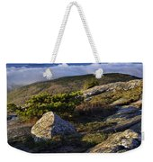 In The Clouds At Cadillac Weekender Tote Bag