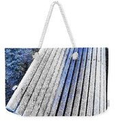 In The Cold Light Of Dawn  Weekender Tote Bag