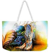 In The Garden Weekender Tote Bag by Adam Vance