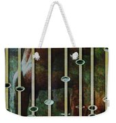 In The Garden Green Weekender Tote Bag