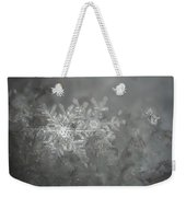 In The Garden Of The Snowflakes Weekender Tote Bag