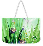 In The Garden V Weekender Tote Bag
