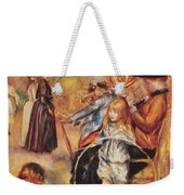 In The Luxembourg Gardens Weekender Tote Bag by Pierre Auguste Renoir