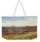 In The New Forest Weekender Tote Bag by Heywood Hardy