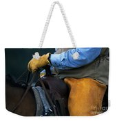 In The Saddle Again Weekender Tote Bag