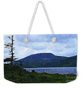 In The Shelter Of The Blue Cliff 2 Weekender Tote Bag