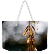 In The Silence Of The Monent Weekender Tote Bag