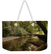 In The Stillness Of Paradise Weekender Tote Bag