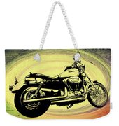 In The Vortex - Harley Davidson Weekender Tote Bag