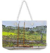 In Tropical Waters Weekender Tote Bag