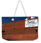 In Wisconsin Weekender Tote Bag