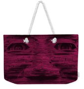 In Your Face In Hot Pink Weekender Tote Bag
