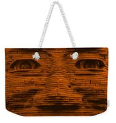 In Your Face In Orange Weekender Tote Bag