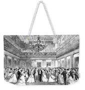 Inaugural Ball, 1869 Weekender Tote Bag