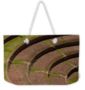Inca Crop Terraces At Moray Weekender Tote Bag