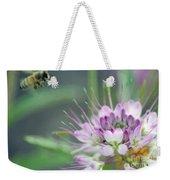 Incoming Bee Weekender Tote Bag