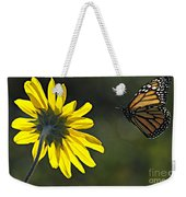 Incoming Monarch Weekender Tote Bag