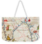India And Malaysia Weekender Tote Bag
