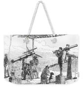 India Eclipse Expedition, 1872 Weekender Tote Bag by Science Source