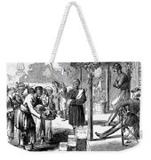 India: New Years Day, 1859 Weekender Tote Bag