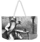 India: Pearl Borer, 1876 Weekender Tote Bag