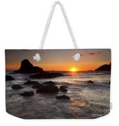 Indian Beach Sundown Weekender Tote Bag