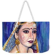 Indian Bride  Weekender Tote Bag