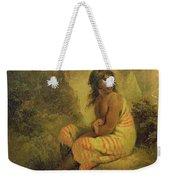 Indian Girl Weekender Tote Bag