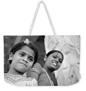 Indian Girls Weekender Tote Bag