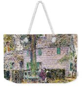 Indian Summer In Colonial Days Weekender Tote Bag by Childe Hassam