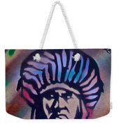 Indigenous Motto Earth Tones Weekender Tote Bag