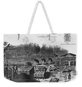 Indigo Culture Weekender Tote Bag by Photo Researchers
