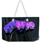 Indigo Mystique Orchids  Weekender Tote Bag
