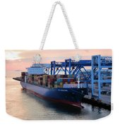 Industrial Boston Weekender Tote Bag
