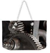 Industrial Gears Whith Oil Drops Weekender Tote Bag