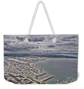 Industrial Harbor Weekender Tote Bag