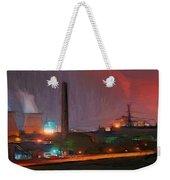 Industrial Lights Weekender Tote Bag