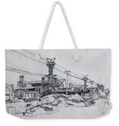 Industrial Site Weekender Tote Bag